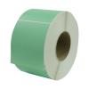 "4"" W x 6"" L Light Green Thermal Transfer Rolls- Case of 4 Rolls"
