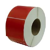 "4"" W x 6"" L Red Thermal Transfer Rolls- Case of 4 Rolls"