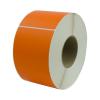 "4"" W x 6"" L Orange Thermal Transfer Rolls- Case of 4 Rolls"