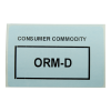 "3"" x 2"" ORM-D Labels- 700 per Roll"