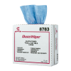 """9"""" x 17"""" Blue Smooth Wipers - 150 Wipes/Pop-Up Box"""