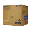 """14"""" x 14"""" Blue Creped Wipers - 250 Wipes/Crumple Box"""