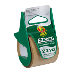 "1.88"" x 22.2 Yards EZ Start Tan Tape & Dispenser"