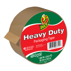 "1.88"" x 54.6 Yards Tan Heavy Duty Packing Tape"