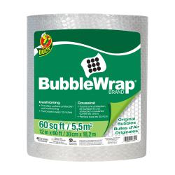 "3/16"" x 12"" x 60' Clear Bubble Wrap®"