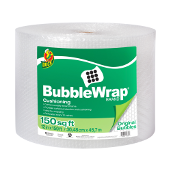 "3/16"" x 12"" x 150' Clear Bubble Wrap®"