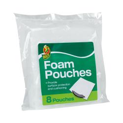 "12"" x 12"" Duck® Foam Pouches- Case of 40"