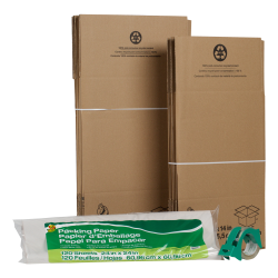 Duck® Moving Kit with Packing Paper