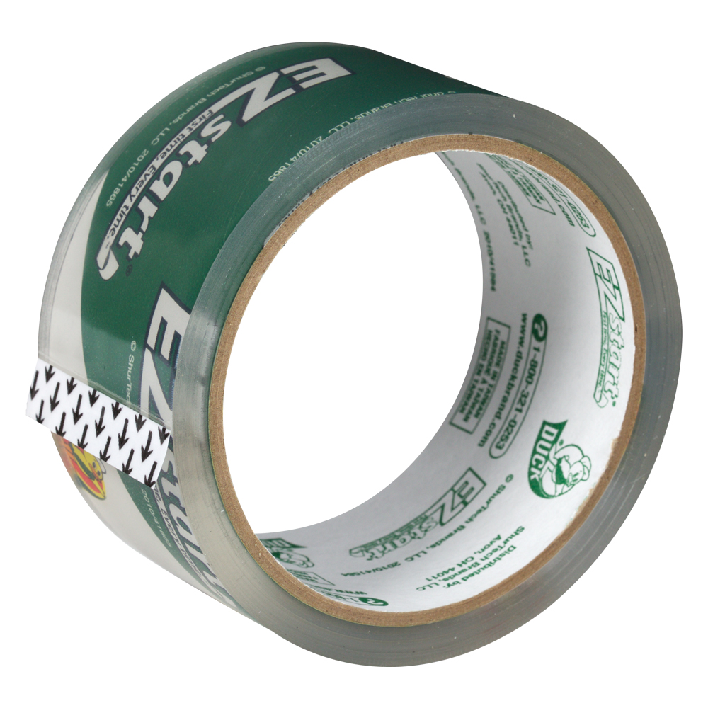 """1.88"""" x 30 Yards EZ Start Clear Packaging Tape"""