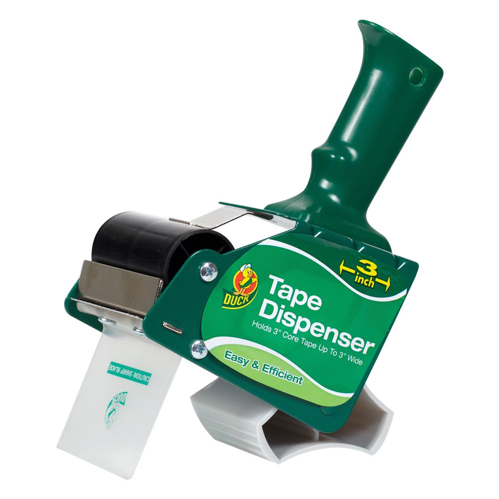 """Duck® 3"""" Green Tape Gun Dispenser"""