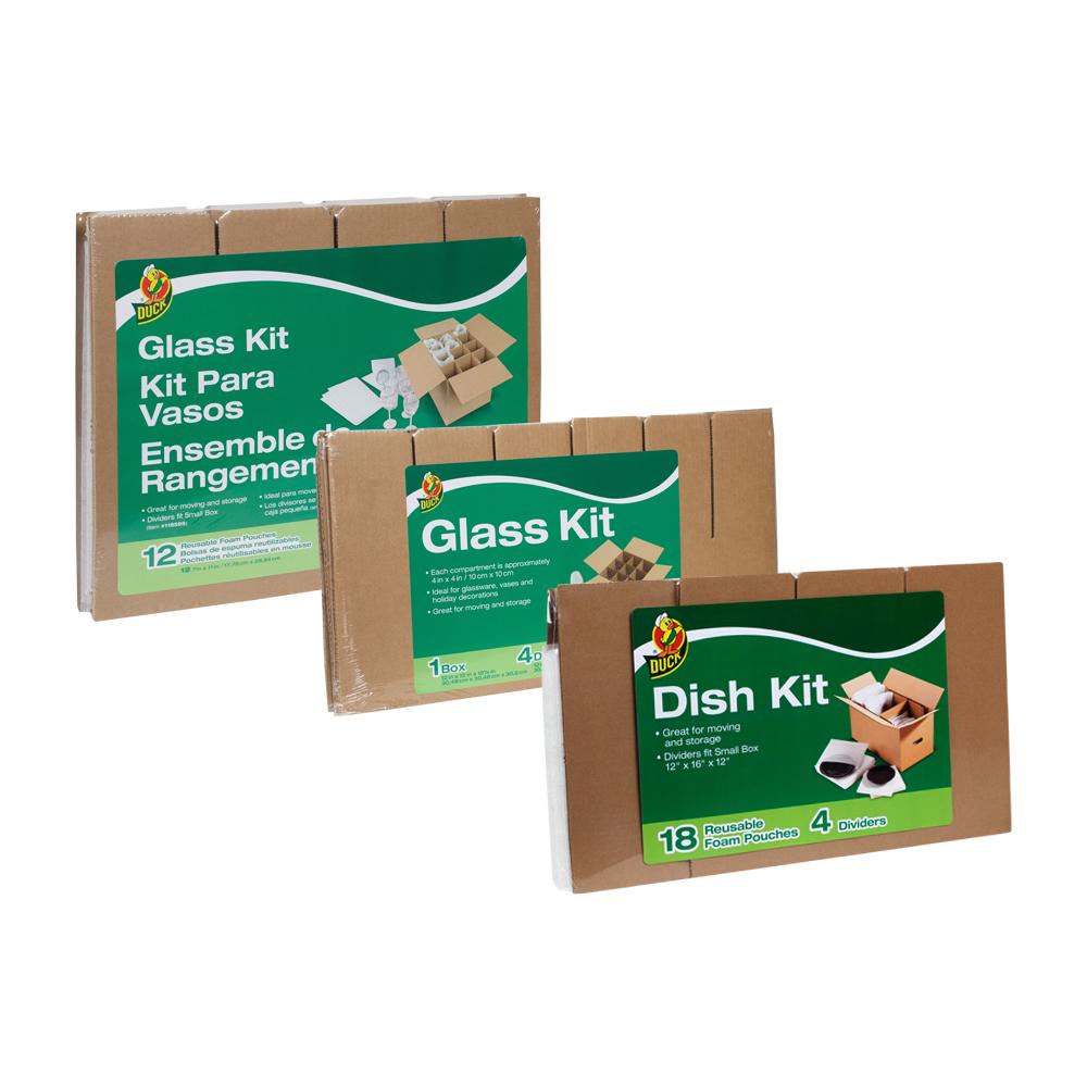 Duck® Glass & Dish Kits