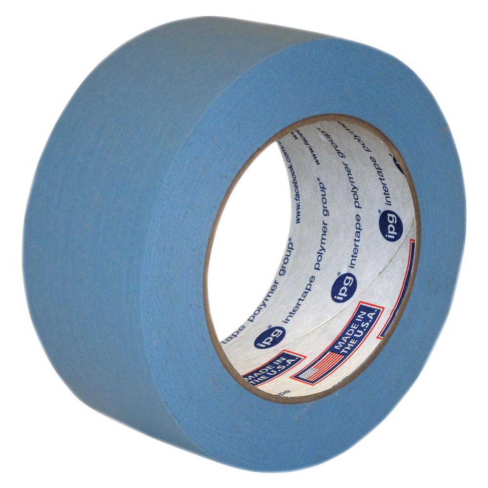 54mm x 54.8m Masking Tape- Light Blue