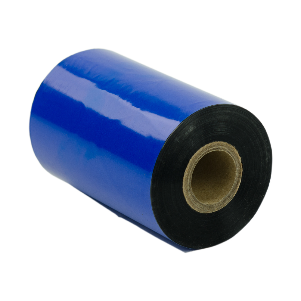 "4.33"" x 1182' Datamax Black Thermal Wax Ribbon- Case of 24 Rolls"
