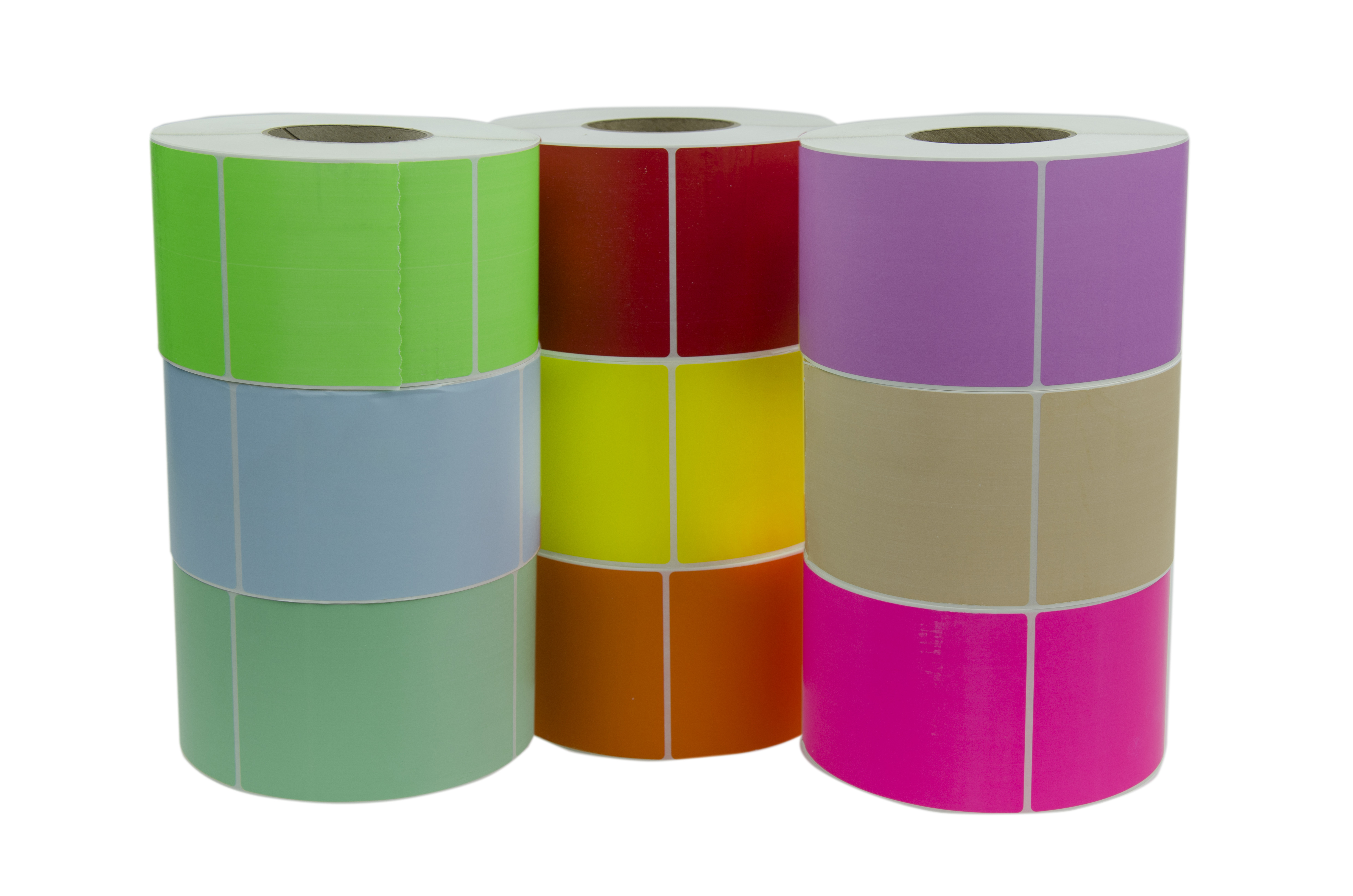 Colored Thermal Transfer Labels