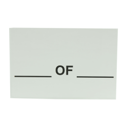 """4"""" x 6"""" # of # Shipping Labels- 500 per Roll"""