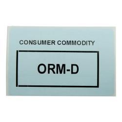 """3"""" x 2"""" ORM-D Labels- 700 per Roll"""
