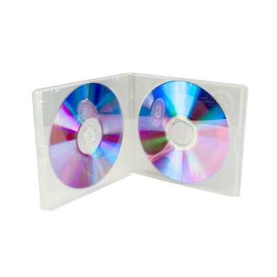 Double Clear CD Polybox