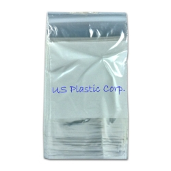 """4"""" x 6"""" Snap-N-Fill® Reclosable Bags w/White Block"""
