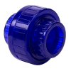 """1/2"""" Socket Low Extractable PVC Union with FKM O-ring Seals"""
