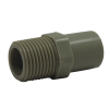 "1/2"" PP-Pure® Pigmented Polypropylene Male Adapter"