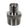 "1"" PEX x 1"" MNPT Stainless Steel Male Adapter"