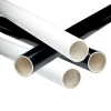 Black & White PVC Furniture Pipe