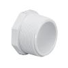 "3/4"" Schedule 40 White PVC Threaded Plug"