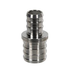 "3/4"" PEX x 1/2"" PEX Stainless Steel Reducer Coupling"