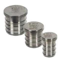 Stainless Steel PEX Plugs