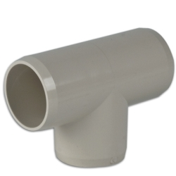 Putty Tee Pipe Fitting