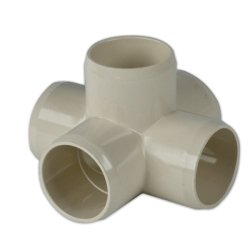 Putty 5 - Way Cross External Pipe Fitting
