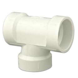 DWV PVC Sanitary Tee