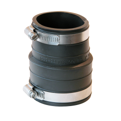 "2"" Plastic Socket x 2"" Plastic Pipe Coupling"
