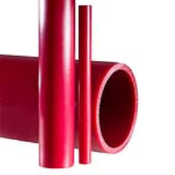 "1"" Coretec® Red Kynar® PVDF Schedule 80 Pipe"