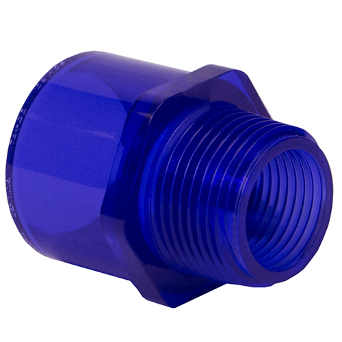 Low Extractable PVC Male Adapters