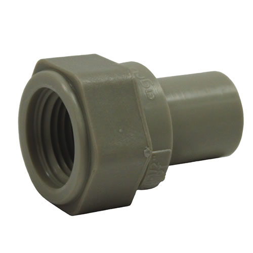 PP-Pure® Pigmented Polypropylene Female Adapters