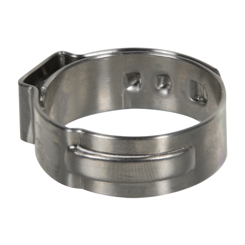 """3/4"""" PEX Stainless Steel Pinch Clamp"""