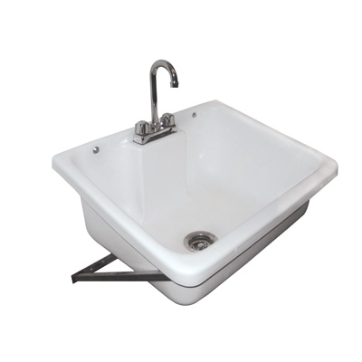 Wall Hung Mop Sink : wall mounted mop sink this sink is wall mounted on a stainless steel ...