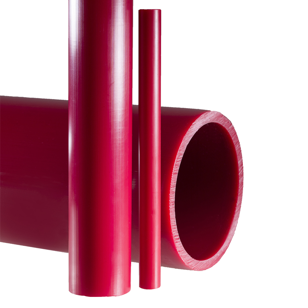 Coretec® Red Kynar® PVDF 740 Pipe
