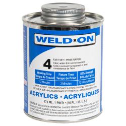 IPS® Weld-On® 4™ Acrylic Cement