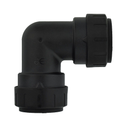 John Guest® ProLock™ Black UV Union Elbow
