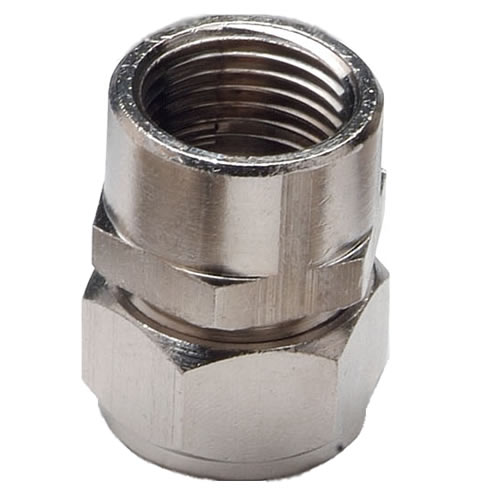 "3/4"" D1 x 3/4"" FNPT Duratec® Nickel Plated Brass Adapter"