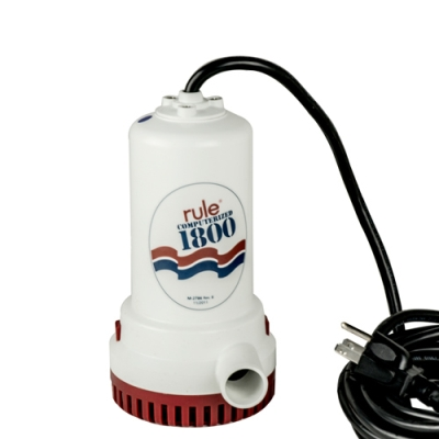 Rule 1800 GPH Submersible Utility Pump
