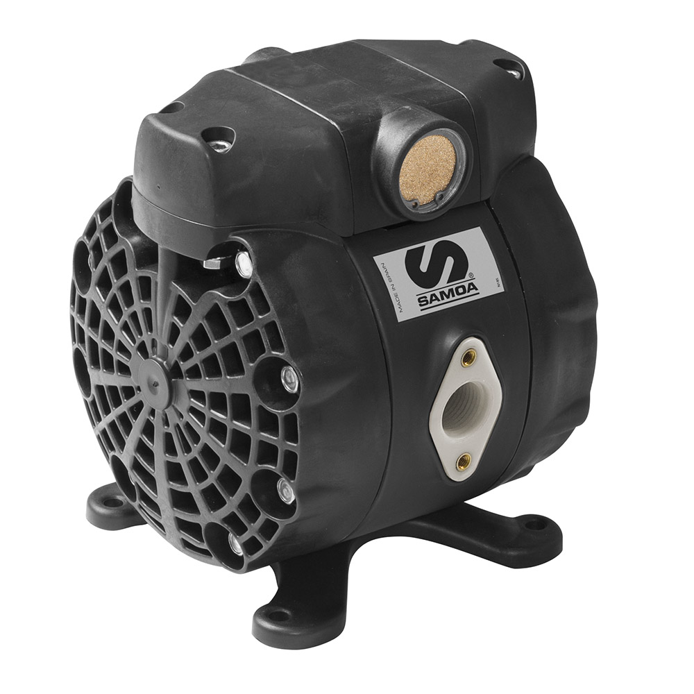 """1/2"""" DF50 Direct Flo 14 gpm Pump with Polypropylene Body and PTFE Diaphragm"""
