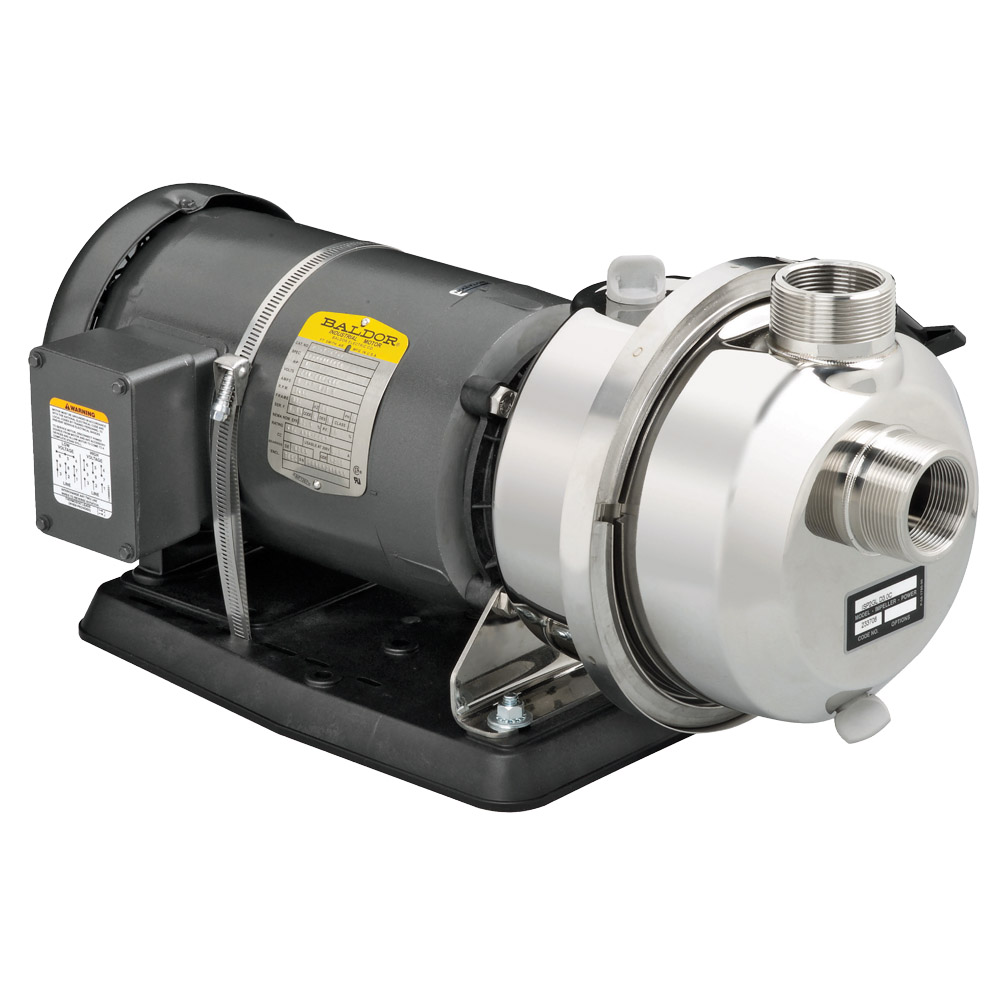 3 HP Portable Water Pump, Single Phase Electric Motor