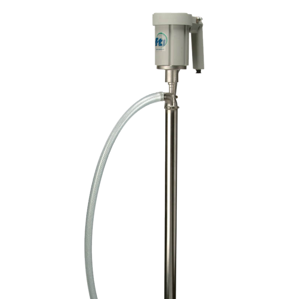"40"" Stainless Steel Pump Tube with Air Motor Kit"