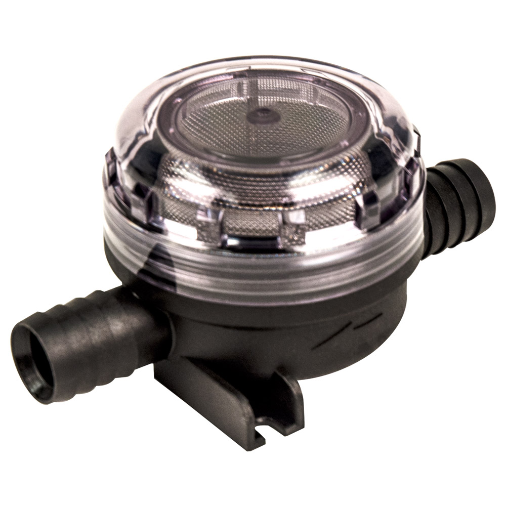 """3/4"""" ID Hose Pump Inlet Strainer with 40 mesh (Fine) SS Filter Screen"""