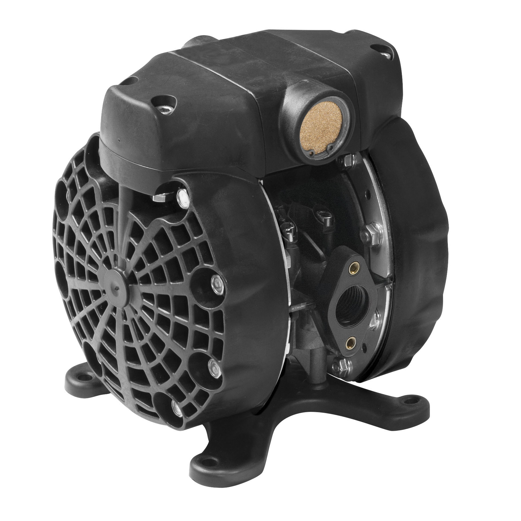 """1/2"""" DF50 Direct Flo 14 gpm Pump with Conductive Kynar® Body and PTFE Diaphragm"""