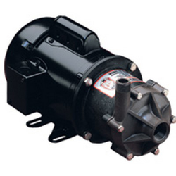 TE-6T-MD March® Magnetic Drive Polypropylene/Ryton® Pump with 1/2 HP, 115/230v, 1 Phase TEFC Motor