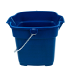 "Roughneck® 12 Quart Royal Blue Bucket - 12.5"" L x 11.5"" W x 10"" H"